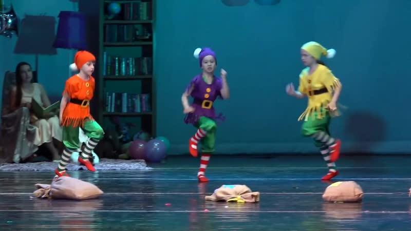 Детский цирковой коллектив Сказка номер Белоснежка и 7 гномов г Владивосток