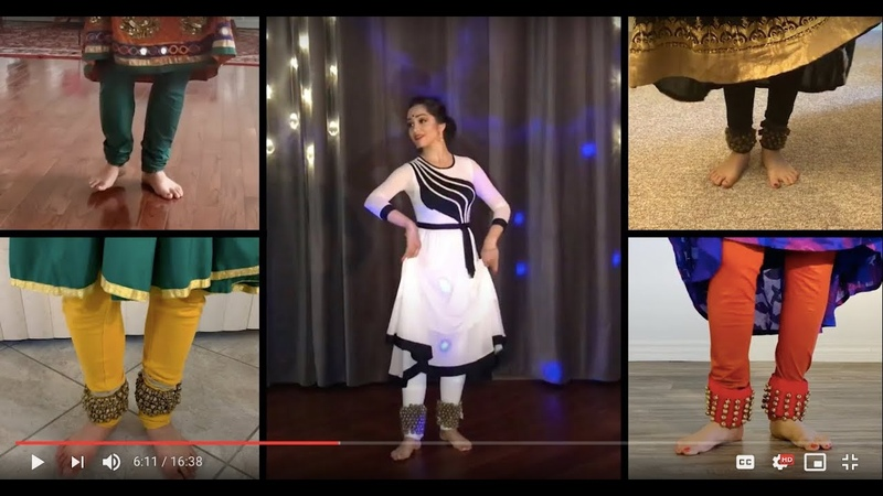 Kathak Saturdays Finale Performance by Svetlana Tulasi featuring BEG INT class students