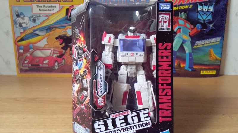 RATCHET Transformers Siege Deluxe Class