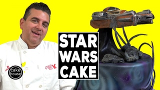 Cake Boss Star Wars Galaxy Cake | Cool Cakes 25