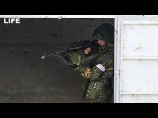 """""""Бой за город"""" на военных учениях в Мулино"""