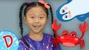 ДИСКО - Морская фигура - Танцуем с Алисой - Кукутики Детские Песенки и танцы