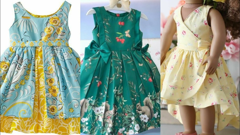 Stylish And Gorgeous Cotton Baby Frocks Latest Designs