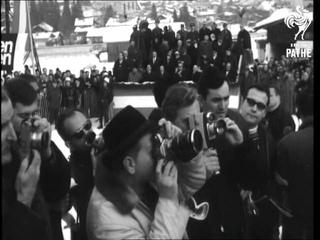 International Ski Meet Men's Slalom Kitzbuhel Austria (1966)