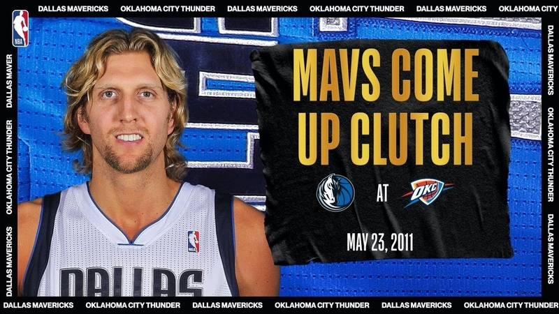 Dirk Drops 40 PTS To Lead Mavs In Game 4 | NBATogetherLive Classic Game