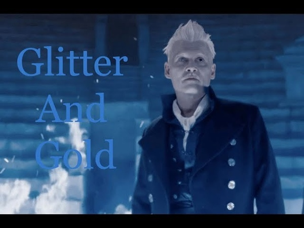 Gellert Grindelwald Glitter And Gold