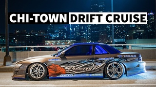 Drift Cars in the Streets of Chicago: Night Photo Session With Ryan Litteral and Risky Devil Crew