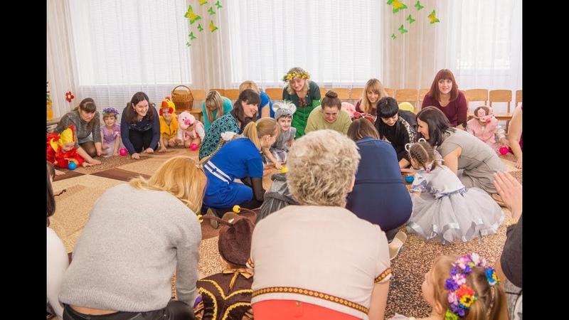 Орф-педагогіка_Танок-гра з кульками (власний задум) матусі та їх дітки_5 років