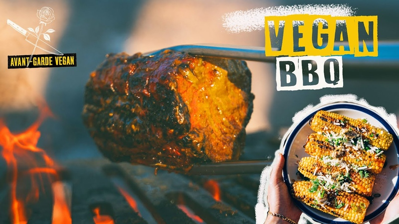 CRAZY VEGAN BBQ. this will blow your mind!