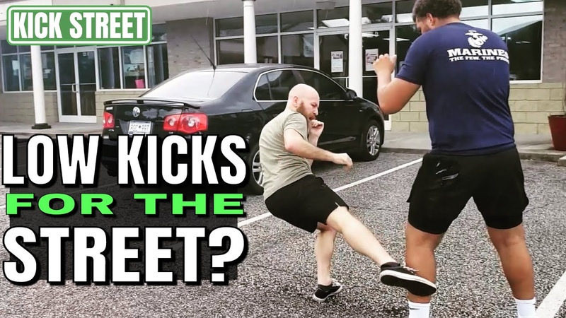 Can You Use Calf Kicks and Shin Kicks in Self Defense | Cover Distance and Increase Your Range