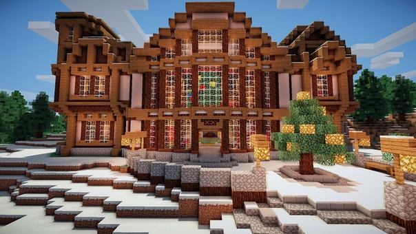 майнкрафт самые красивые дома #7