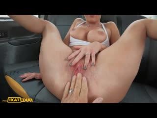 FakeTaxi Texas Patti- Rides Again in the UK-Fake Taxi Busty Babe