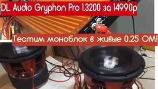 Заводская заявка в 0.5 ом! Тестим работу в . Обзор и тест моноблока DL Audio Gryphon PRO