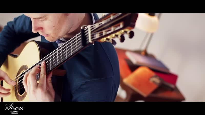 825 (3) J. S. Bach - Partita No. 1 in B flat major, BWV 825 3.Courante [German Suite N. 1] - Hamish Strathdee, guitar