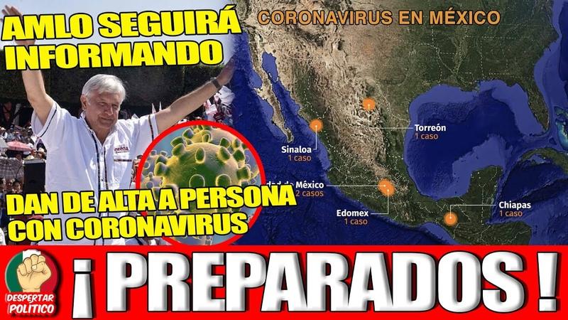 El Mundo No Lo Puede Creer y China Pide Medicos MexicanosDan De Alta 2do Caso De V*rus En El País