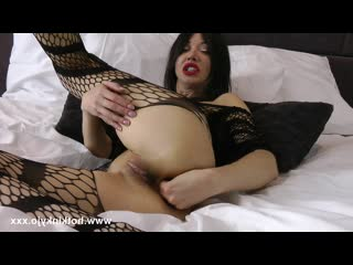 HotkinkyJo -  Anal fisting and deep exploration, Gape, Prolapse, Toys, Dildo, Milf, BDSM, Squirt, Solo, Russian Анал