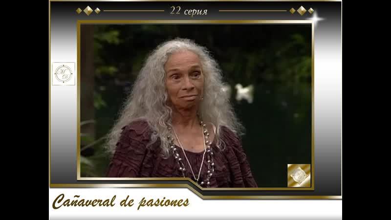 В плену страсти 22 серия \Cañaveral de pasiones - Capítulo 22 [575, Mp4]