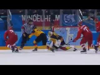 Матч ТВ показал ролик о голосовании за Конституцию! Победить Германию в финале Олимпиады по хоккею помогли поправки