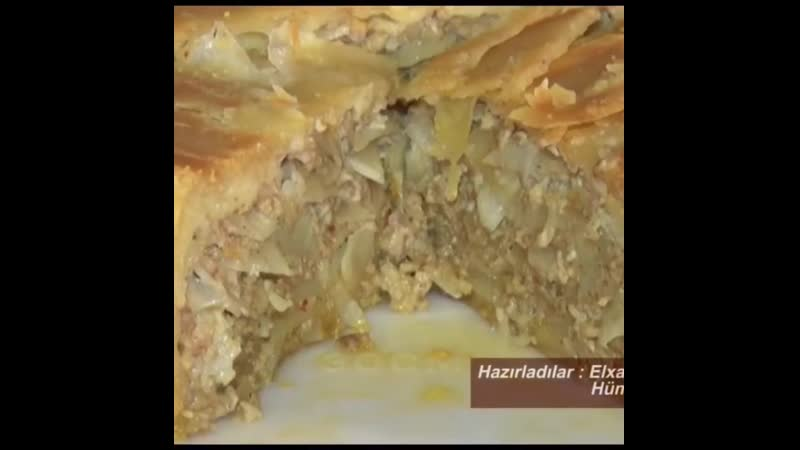 Цкен - лезгинский пирог