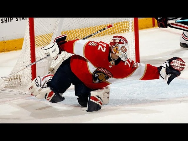 Сергей Бобровский Лучшие сейвы в НХЛ 2019 20 до перерыва