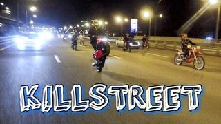 #KILLSTREET Стант по ночной Москве - ГришаVB