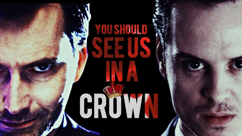 ☂️ Jim Moriarty Kilgrave || You should see me in a Crown