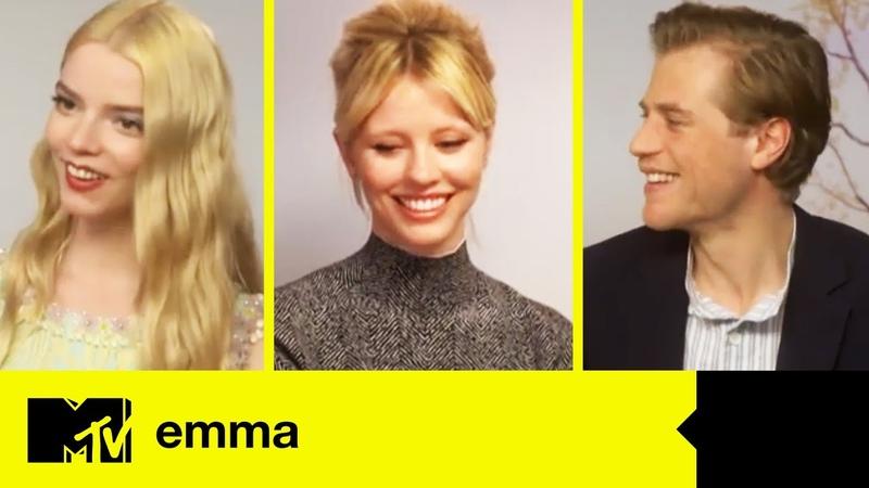 Emma Cast Anya Taylor Joy Johnny Flynn Chat Nude Scenes Mia Goth's Orgasm MTV Movies