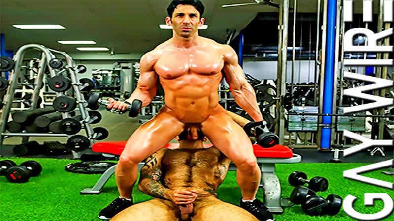 GayWire — Atlas Fucks Sir Jet At The Gym — Atlas Grant & Sir Jet