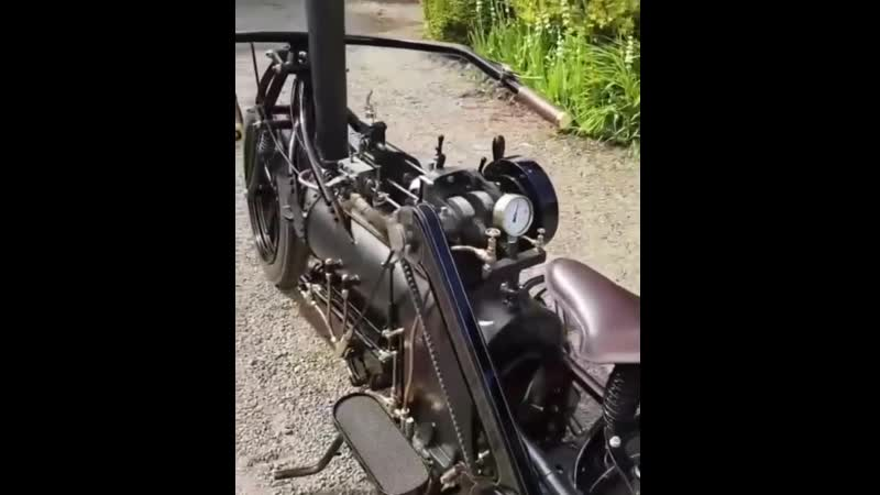 Мотоцикл с паровым двигателем vjnjwbrk c gfhjdsv ldbufntktv