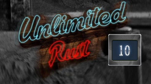 Rust UNLIMITED account 10 Year Badge 6LVL