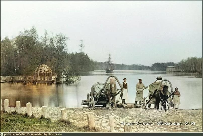 Эксклюзивные цветные фотографии Петербурга начала 20 века, изображение №8