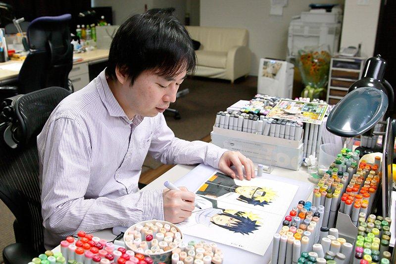 Сколько часов в месяц аниме-художники работают в Японии?, изображение №4