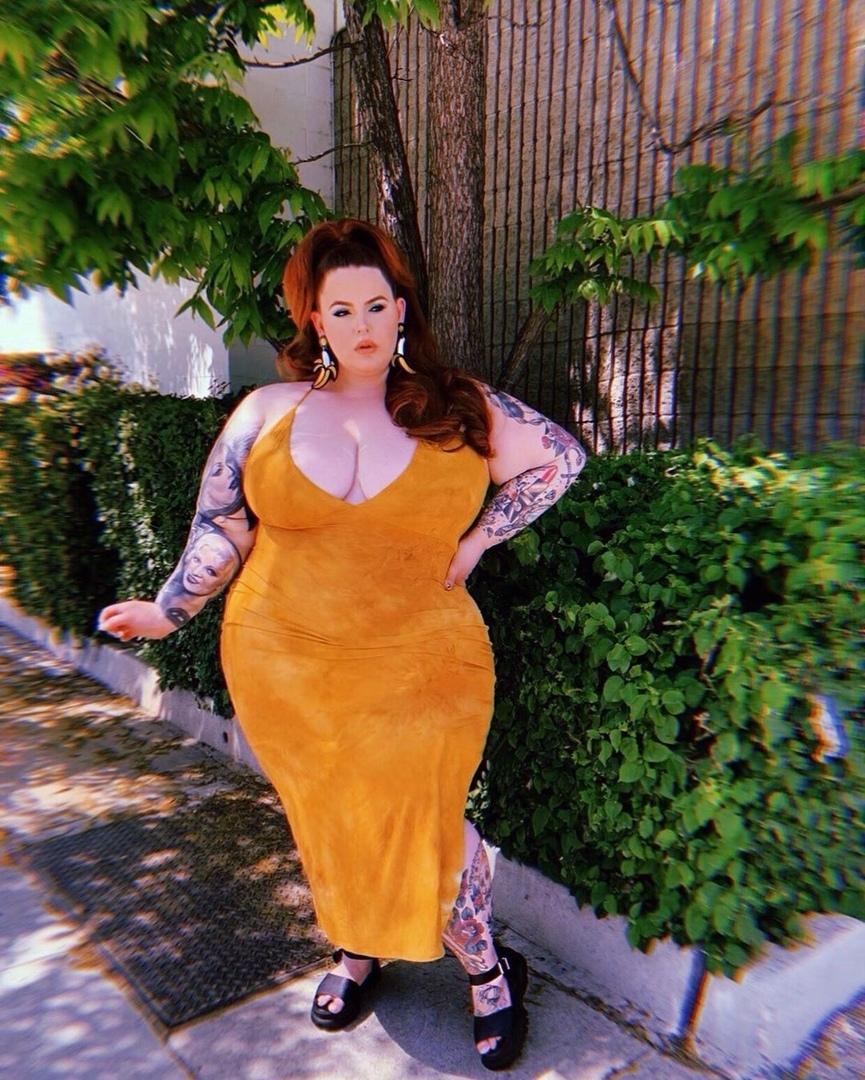 34-летняя самая крупная модель Тесс Холлидей: «Мужчины считают меня безумно сексуальной»