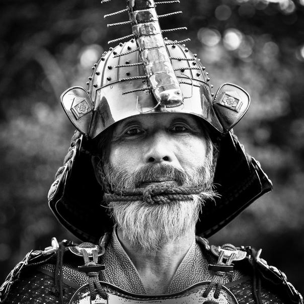 Прикольное фото самураев