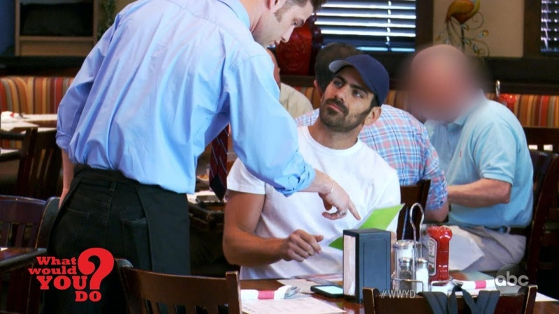 Actor After Scene: 'DWTS' winner Nyle DiMarco plays discriminated deaf customer | WWYD