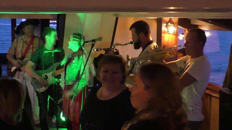 Porto Franco - концерт, Марли Круиз по Неве (24.08.2019, Санкт-Петербург, теплоход Rock Hit Neva) HD