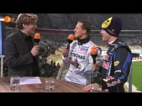Vettel und Schumi in Düsseldorf Einzigartig
