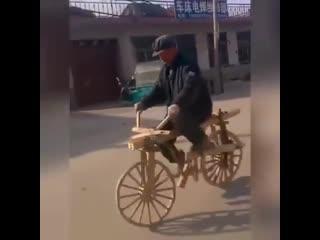 Я буду долго гнать велосипед )) Как вам -