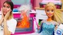 ¡Vaya pastel ha hecho Barbie! Vídeos de muñecas. Vídeos para niñas y niños