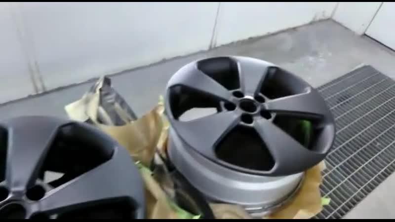покрасочная камера - диски, крышечки