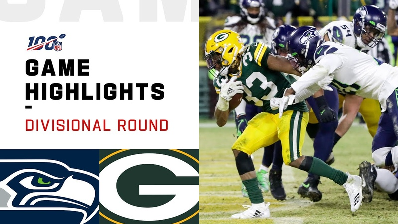 Seahawks vs Packers Divisional Round Highlights NFL 2019 Playoffs
