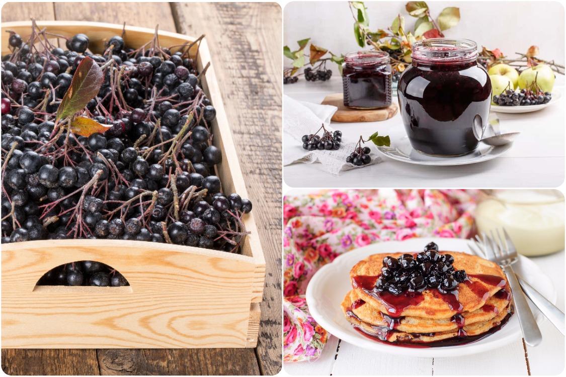 Варенье из черноплодной рябины (аронии), три рецепта