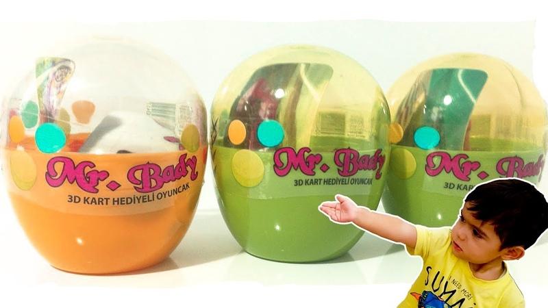 Mr Bady 3D Kart Hediyeli Oyuncak İncelemesi BİM 'de Satılan sürpriz yumurta inceleme, oyuncak açma