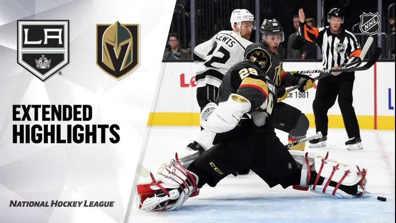 Los Angeles Kings vs Vegas Golden Knights preseason game, Sep 27, 2019 HIGHLIGHTS HD