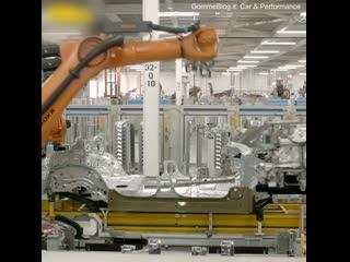 Производственная линия BMW X7  - стройка.