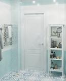 #zolotoe_sechenie68 🔸Дизайн интерьера🔸архитектура🔸ландшафт🔸  .  Ванна цвета Тиффани S = 5 м2. В прое
