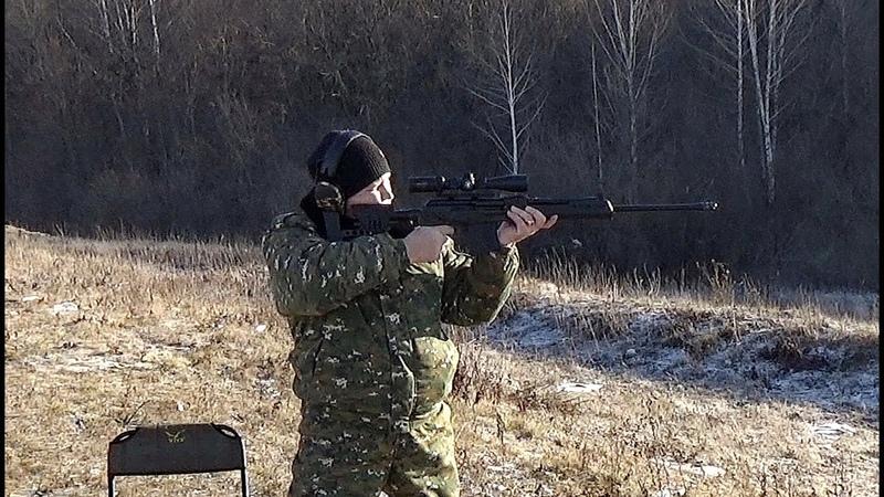 ВПО-221 Ланкастер,стрельба с рук 3 по 3 дистанция 100м.