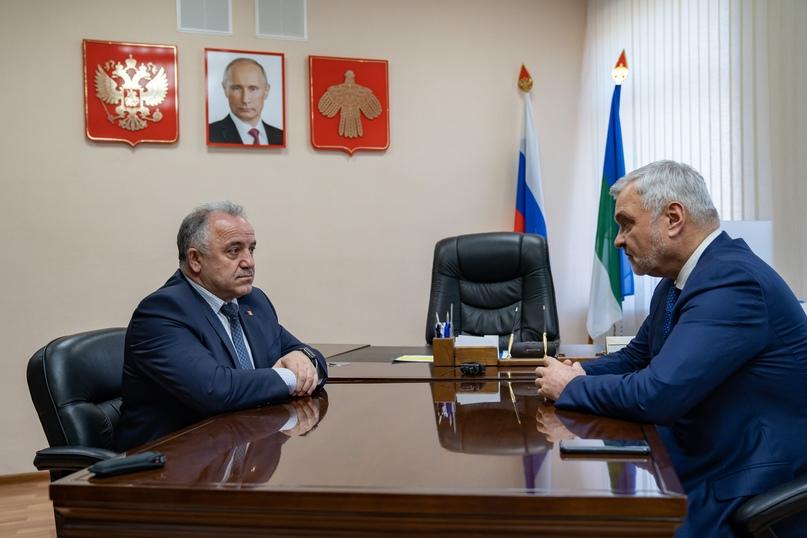 В Ухте с рабочим визитом побывал врио Главы Республики Коми Владимир Уйба, изображение №6