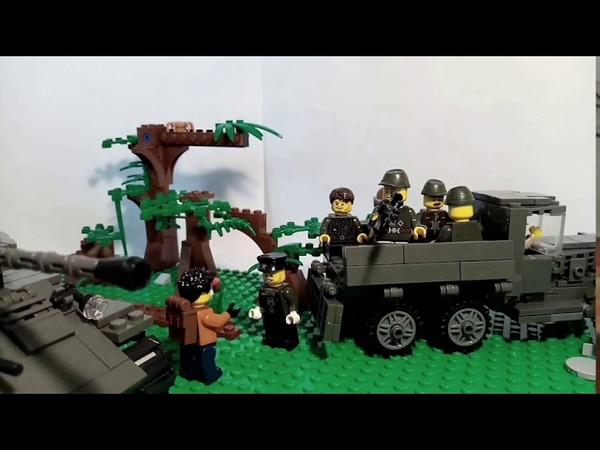 Мини фильм Военные в зоне Mini movie Military in the zone LEGO S T A L K E R