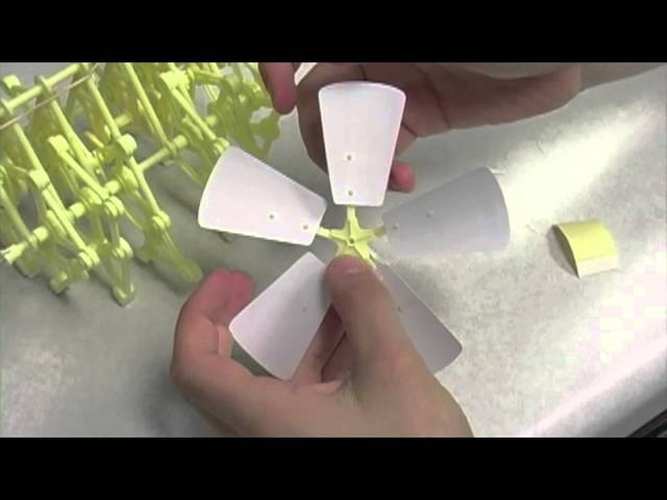 Build the Strandbeest from Jr. Scientist series (Part TWO)